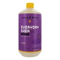 Image of Everyday Shea - Moisturizing Shea Butter Bubble Bath Lavender - 32 oz.