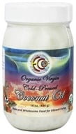 Earth Circle Organics - Raw Organic Virgin Coconut Oil Cold Pressed - 16 oz. by Earth Circle Organics
