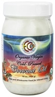 Image of Earth Circle Organics - Raw Organic Virgin Coconut Oil Cold Pressed - 16 oz.