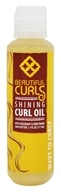 Beautiful Curls - Curl Oil Shining Shea Butter & Rosemary For Wavy to Curly Hair - 4 oz.