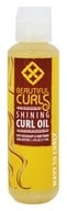 Beautiful Curls - Curl Oil Shining Shea Butter & Rosemary For Wavy to Curly Hair - 4 oz. - $6.74