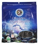 Earth Circle Organics - Raw Certified Organic Sushi Nori Sheets - 10 Sheet(s) (894932002214)