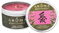 Aroma Naturals - Spirituals Love Naturally Blended Travel Eco-Candle Pomegranate & Passion Fruit - 6.5 oz.