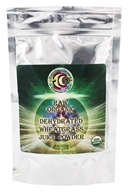 Earth Circle Organics - Raw Organic Dehydrated Wheatgrass Juice Powder 113 g. - 4 oz.