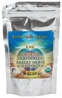Earth Circle Organics - Raw Organic Dehydrated Barley Grass Juice Powder - 4 oz.
