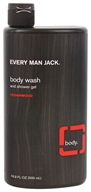 Every Man Jack - Body Wash and Shower Gel Cedarwood - 16.9 oz. by Every Man Jack