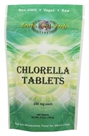 Earth Circle Foods - Chlorella Tablets 250 mg. - 400 Tablets