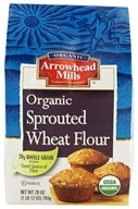 Image of Arrowhead Mills - Organic Sprouted Wheat Flour - 28 oz.