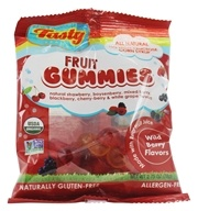 Image of Tasty Brand - Organic Wild Berry Fruit Snacks Gummies For Kids 2-102 - 2.75 oz.