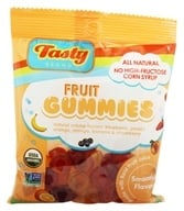 Tasty Brand - Organic Smoothie Fruit Snacks Gummies For Kids 2-102 - 2.75 oz.