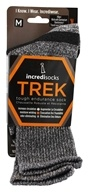 Incredisocks - Bamboo Charcoal Socks Hiking Tall Small/Medium Grey