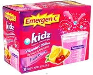 Alacer - Emergen-C Kidz Vitamin C Fruit Punch 250 mg. - 30 Packet(s) (076314304042)