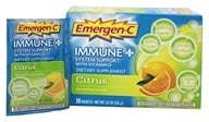 Alacer - Emergen-C Immune Plus System Support with Vitamin D Citrus - 30 Packet(s) - $11.46