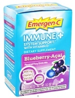 Alacer - Emergen-C Immune Plus System Support with Vitamin D Blueberry-Acai - 10 Packet(s)