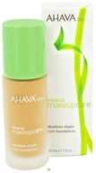 AHAVA - Mineral Makeup Care DeadSea Algae Rich Foundation Fragrance-Free Medium Clay - 1 oz. CLEARANCE PRICED