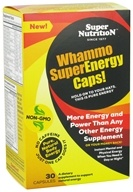 Super Nutrition - Whammo Super Energy Caps - 30 Vegetarian Capsules - $12.72