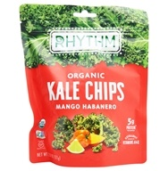 Rhythm Superfoods - Organic Kale Chips Raw Mango Habanero - 2 oz.