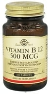 Solgar - Vitamin B12 500 mcg. - 100 Tablets