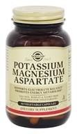 Solgar - Potassium Magnesium Aspartate - 90 Vegetarian Capsules, from category: Vitamins & Minerals