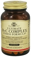 Solgar - Ultimate B+C Complex Stress Formula - 60 Tablets
