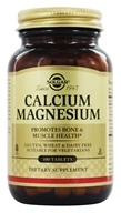Image of Solgar - Calcium Magnesium - 100 Tablets