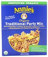 Image of Annie's Homegrown - Organic Traditional Party Mix - 9 oz.