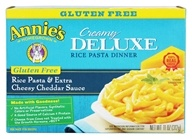 Image of Annie's Homegrown - Creamy Deluxe Rice Pasta & Extra Cheesy Cheddar Sauce - 11 oz.