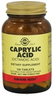 Solgar - Caprylic Acid (Octanic Acid) 365 mg. - 100 Tablets (033984005501)
