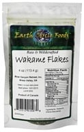 Earth Circle Organics - Wakame Flakes Raw & Wildcrafted - 4 oz. (813313015070)
