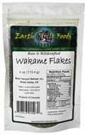 Image of Earth Circle Organics - Wakame Flakes Raw & Wildcrafted - 4 oz.