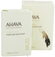Image of AHAVA - DeadSea Mud Purifying Mud Bar Soap - 3.4 oz.