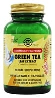 Image of Solgar - Green Tea Leaf Extract - 60 Vegetarian Capsules