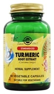 Solgar - Turmeric Root Extract Standardized - 60 Vegetarian Capsules (033984041615)