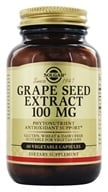 Solgar - Grape Seed Extract 100 mg. - 60 Vegetarian Capsules - $18.95
