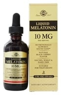 Solgar - Liquid Melatonin 10 mg. - 2 oz. (033984503809)