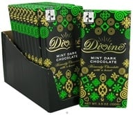 Divine - Dark Chocolate Bar Mint - 3.5 oz., from category: Health Foods