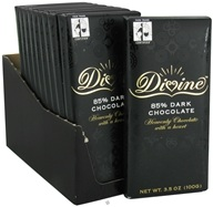 Divine - 85% Dark Chocolate Bar - 3.5 oz., from category: Health Foods
