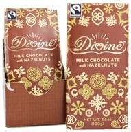 Divine - Milk Chocolate Bar Hazelnut - 3.5 oz. by Divine