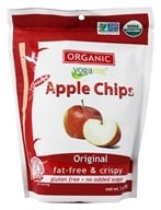 Image of Yogavive - Fuji Apple Chips Popped Organic Original - 1.76 oz.