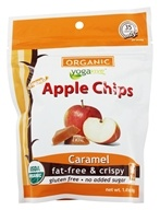 Yogavive - Fuji Apple Chips Popped Organic Caramel - 1.76 oz.