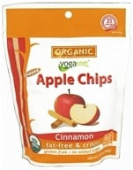 Image of Yogavive - Fuji Apple Chips Popped Organic Cinnamon - 1.76 oz.