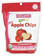 Image of Yogavive - Fuji Apple Chips Popped Organic Strawberry - 1.76 oz.