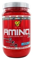Image of BSN - Amino X BCAA Endurance and Recovery Agent Blue Raz - 15.3 oz.