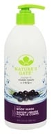 Image of Nature's Gate - Body Wash Velvet Moisture Acai - 18 oz.