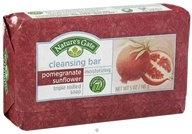 Nature's Gate - Cleansing Bar Soap Moisturizing Pomegranate Sunflower - 5 oz. (078347752371)