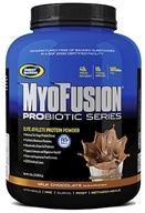 Gaspari Nutrition - Myofusion Probiotic Series Protein Milk Chocolate - 5 lbs., from category: Sports Nutrition