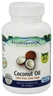 FruitrientsX - Coconut Oil 100% Pure Extra Virgin - 60 Softgels - $7.46