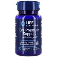 Life Extension - Eye Pressure Support with Mirtogenol - 30 Vegetarian Capsules (737870151432)