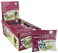 Honey Stinger - Energy Chews Organic Pomegranate Passion - 1.8 oz.