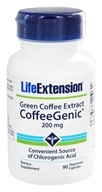 Life Extension - Green Coffee Extract Coffee Genic - 90 Vegetarian Capsules (737870160496)